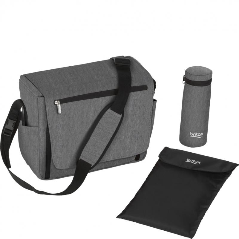 Britax Nursery Bag-Grey Melange (New)