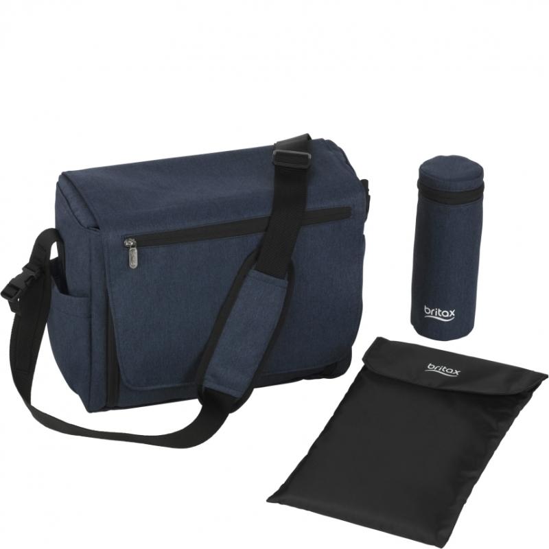 Britax Nursery Bag-Navy Melange (New)