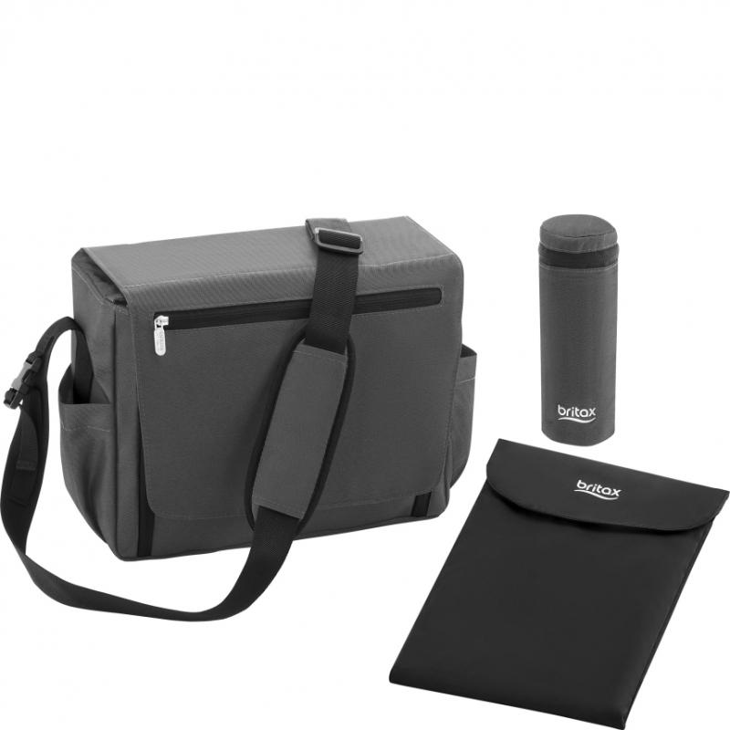 Britax Nursery Bag-Black Denim (New)