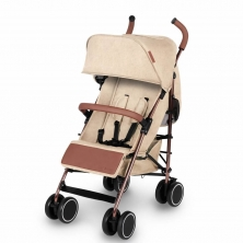 Ickle Bubba Discovery Rose Gold Chassis Pushchair-Sand