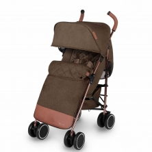Ickle Bubba Discovery Max Rose Gold Chassis Pushchair-Khaki (New 2018)