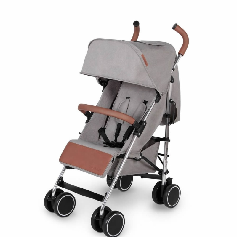 Ickle Bubba Discovery Silver Chassis Pushchair-Grey