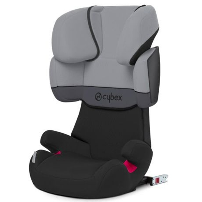Cybex Solution X-Fix Group 2/3 Car Seat-Cobblestone Grey (New 2018)