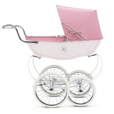Silver Cross Chatsworth Dolls Pram+Free Shopping Tray-Rose