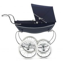 Silver Cross Oberon Dolls Pram-Navy