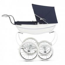 Silver Cross Oberon Dolls Pram-White