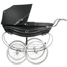 Silver Cross Balmoral Pram-Black (New)
