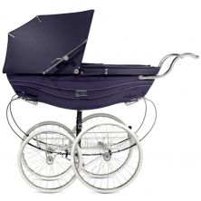 Silver Cross Balmoral Pram-Navy (New)