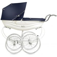 Silver Cross Balmoral Pram-White (New)