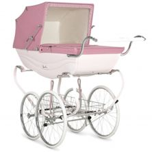 Silver Cross Balmoral Pram-Pink (New)