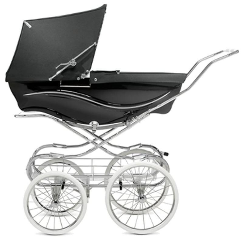 Silver Cross Kensington Pram-Black (New)