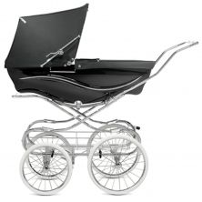 Silver Cross Kensington Pram-Black
