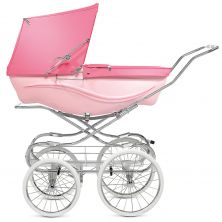 Silver Cross Kensington Pram-Pink