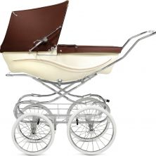 Silver Cross Kensington Pram-Brown