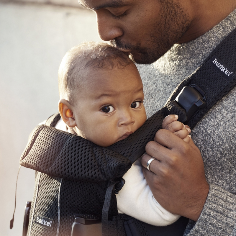 Babybjorn Baby Carrier One Air Black New 2018