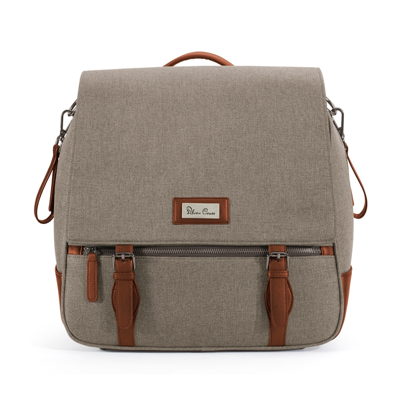 Silver Cross Wave Changing Bag-Linen (New)