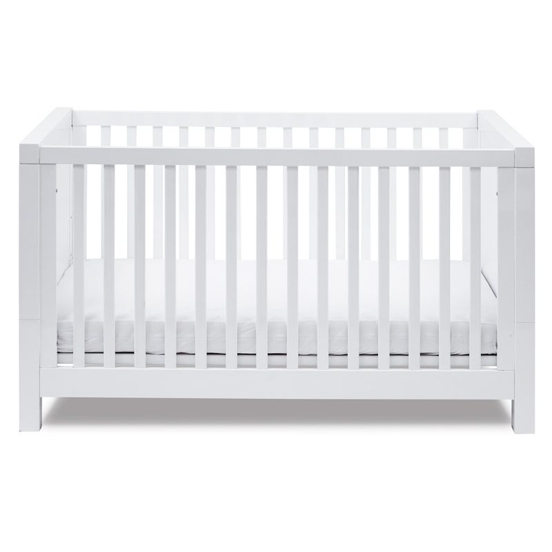 Image of Silver Cross Notting Hill Cot Bed-White (In Stock Immediate Delivery)