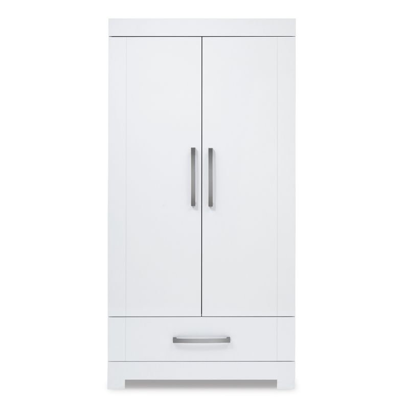 Image of Silver Cross Notting Hill Double Wardrobe-White (New)