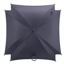 Silver Cross Wave Parasol-Midnight Blue