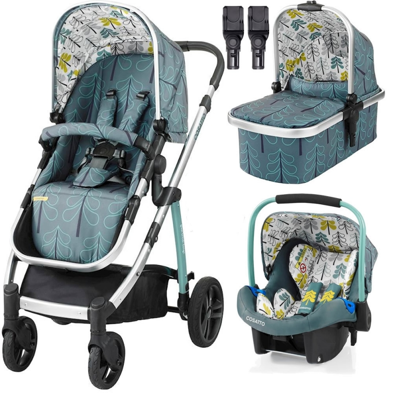 6729f6053d0d Cosatto Wow 3in1 Travel System-Fjord (New) + Free Port Car Seat ...