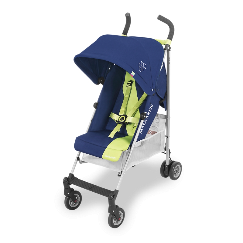 Maclaren Triumph Stroller-Medieval Blue/Limeade (New 2018)