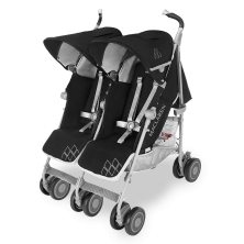 Maclaren Twin Techno Stroller-Black (New 2018)