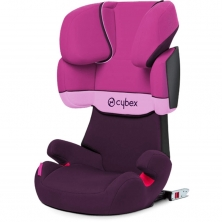 Cybex Solution X-Fix Group 2/3 Car Seat-Purple Rain (2021)