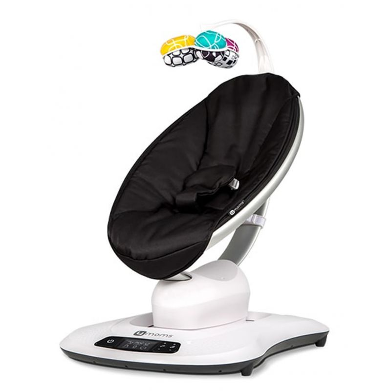 4moms MamaRoo 4.0 Rocker/Bouncer-Classic Black
