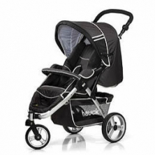 Hauck Apollo 3 Pushchair-Charcoal Black **CLEARANCE**