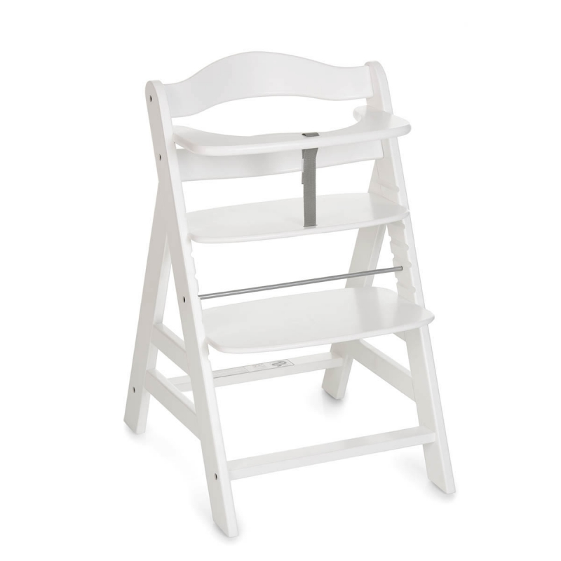 Hauck Alpha+ Highchair-White (New 2018)