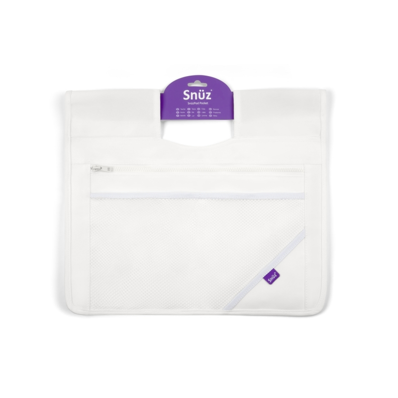 SnuzPod3 Storage Pocket-White (New 2018)
