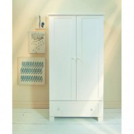 East Coast Montreal Double Wardrobe-White