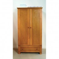 East Coast Montreal Double Wardrobe-Antique
