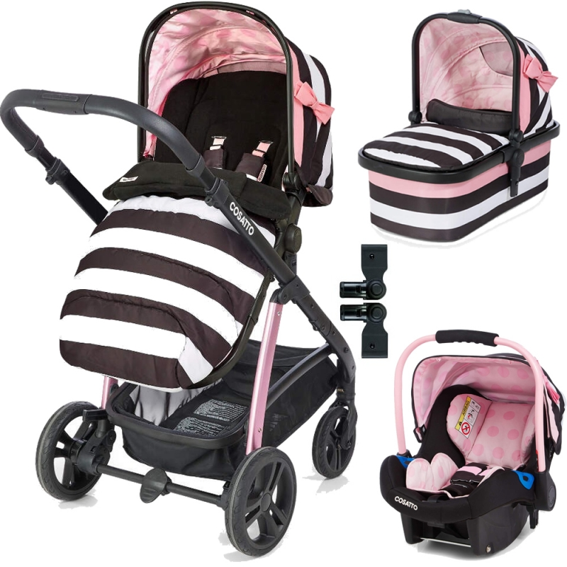 Cosatto Wow Travel System Bundle-Go Lightly 3 (New 2018)