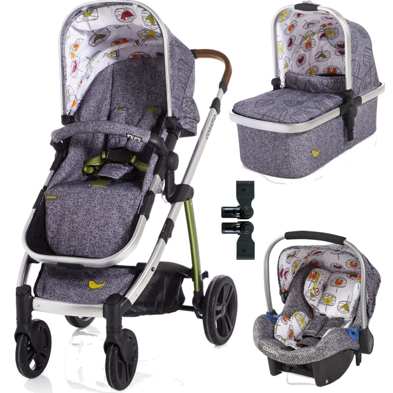 Cosatto Wow Travel System Bundle-Dawn Chorus (New 2018)