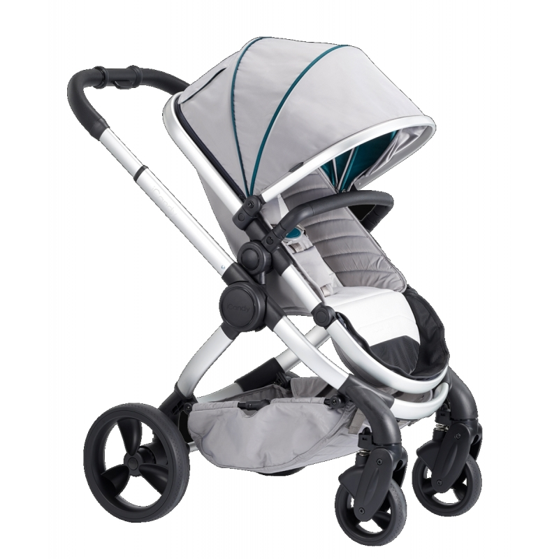 iCandy Peach Stroller-Satin Dove Grey (New 2018)
