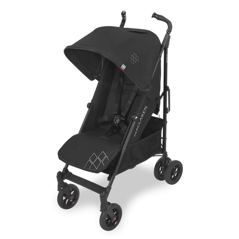 Maclaren Techno XT Stroller-Black/Black (New 2018)