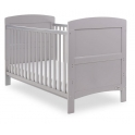 Obaby Grace Cot Bed-Warm Grey