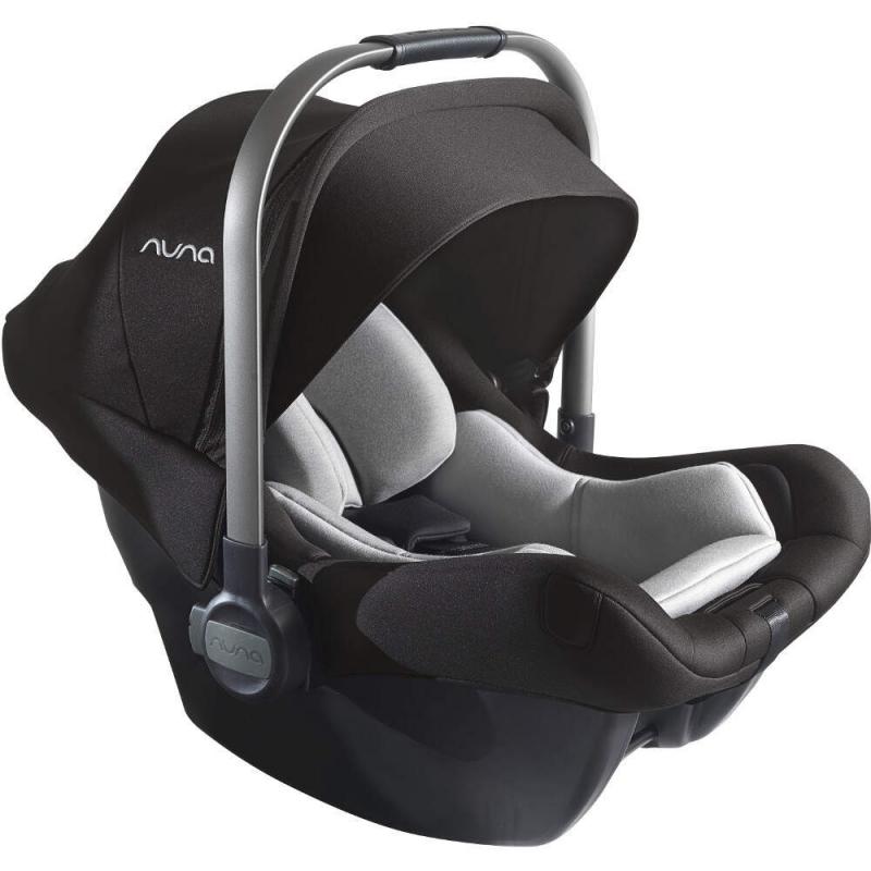 Nuna Pipa Lite LX Car Seat With Base-Caviar (New 2018)