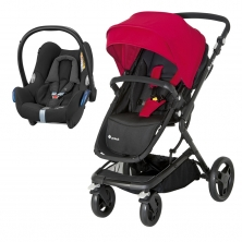Safety 1st Kokoon 2in1 Travel System-Black & Red **Clearance** (NEW)