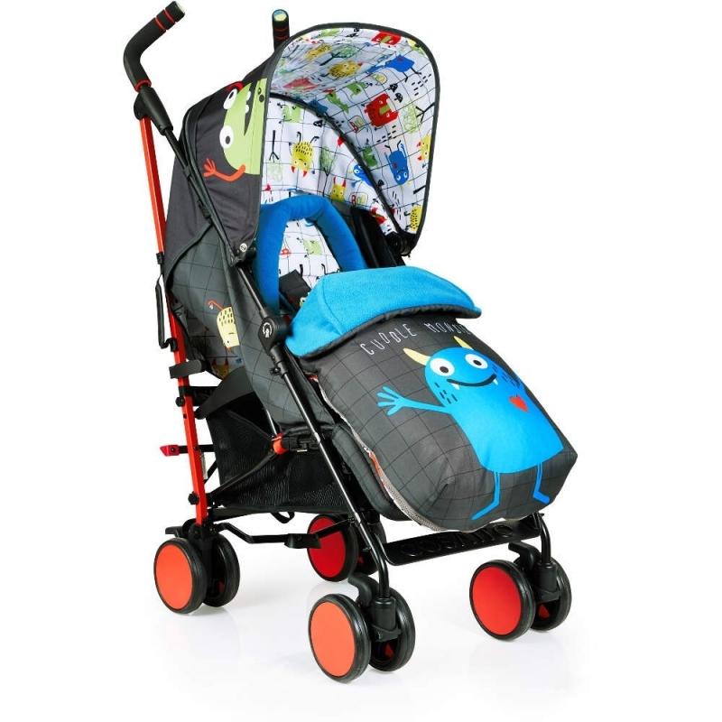 Cosatto Supa Stroller-Monster Mob + Free Supa Bag Worth £39.95