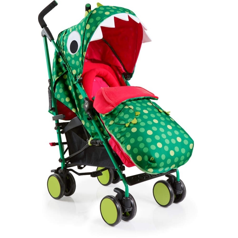 Cosatto Supa Stroller-Dino Mighty + Free Supa Bag Worth £39.95