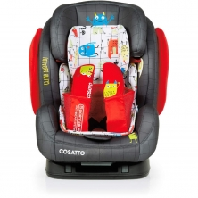 Cosatto Hug (5 Point Plus) 1/2/3 ISOFIX Car Seat-Monster Mob (New)
