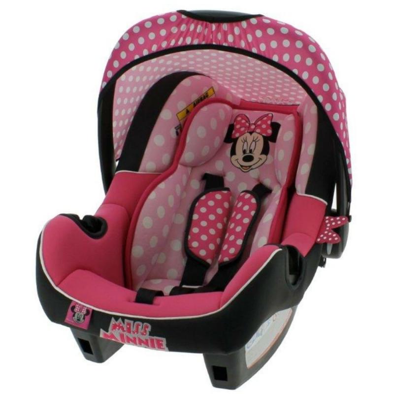 Nania Beone SP Group 0+ Car Seat-Minnie Mouse