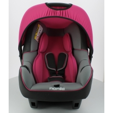 Nania Luxe Beone SP Group 0+ Car Seat-Framboise (New 2018)
