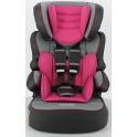 Nania Luxe Beline SP Group 1/2/3 Car Seat-Framboise (New 2018)