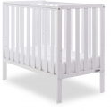 Obaby Bantam Space Spaver Cot + Foam Mattress-White