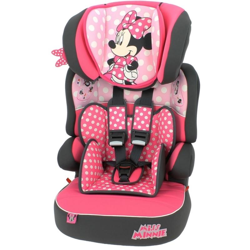 Nania Beline SP LX Disney Group 1/2/3 Car Seat-Minnie Mouse (New 2018)