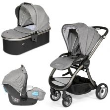 Tutti Bambini Arlo Charcoal 3in1 Travel System-Charcoal