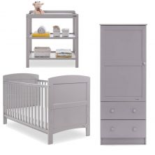 Obaby Grace 3 Piece Furniture Set-Warm Grey
